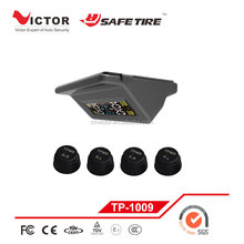 Solar Power Universal Wireless Tire Pressure Monitoring System/TPMS with external sensors for car