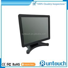 "Runtouch RT-1500 POS 15"" 19'' dustproof open frame SAW usb powered touch screen monitor"