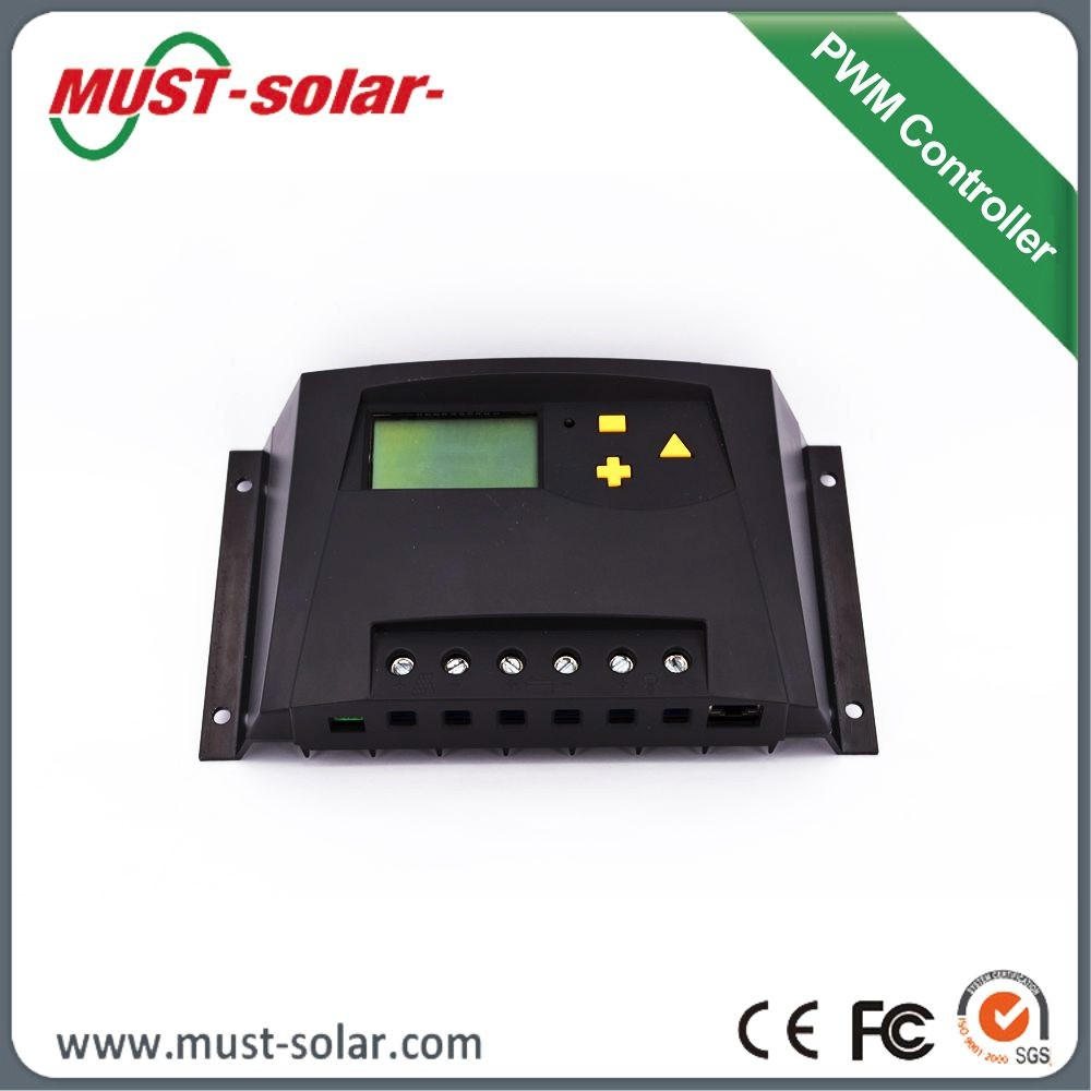 LCD display 60A PWM charge controller /solar regulator