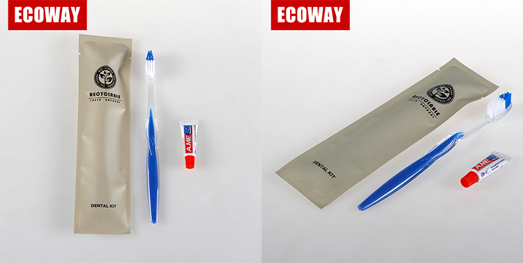 disposable toothbrush and toothpaste travel plastic toothbrush with paste