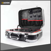 Large Heavy Duty Aluminum Tool Case with Pocket Pallets