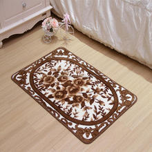 Custom nylon durable bedroom / bathroom /door non-slip rug pad