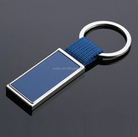 fashion color choose woven Keyring Keychain Key Chain Ring Key Fob