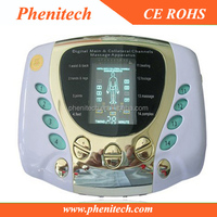 2014 hot sale digital tens massager Diabetes Therapy Machine