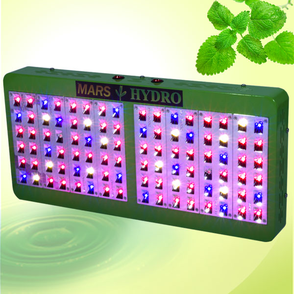 Mars Hydro Reflector 96 Led Plant Grow Light 205W Tue Power Veg Flower Grow Light Panel
