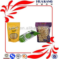 unqiue design reusable popcorn packaging plastic bags snack