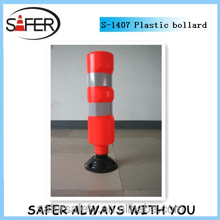 flexible spring back bollard
