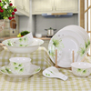 Haonai microwave safe ceramic/porcelain dinner set homeware kitchenware dinnerware with customized design