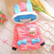 Z50572B China supplier korean style children clothing overseas winter coat for wholesale