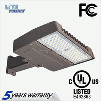 UL Led Shoebox Light 75W 120W