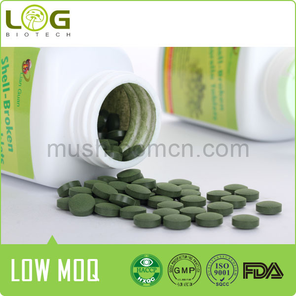 100% pure high cgf powerful detoxification shell broken chlorella
