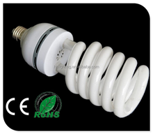 China supplier Hot Popular Half Spiral CFL energy saving lamp 6500K