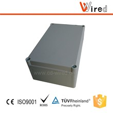 IP 66 Protection Level Waterproof Junction Box Aluminum PC/ABS Material Can Choose.