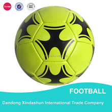 Promotional Cool Professional Football high quality football / soccer ball with customized logo