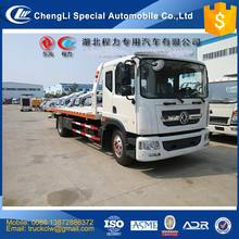 Factory selling 4x2 One Drive Three platform Wrecker Towing Truck 10 ton Emergency Tow Vehicle under lift 6T Customized design