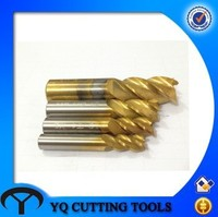 HSS coating TIN /TIALN End Mill Cutter with TUV CE