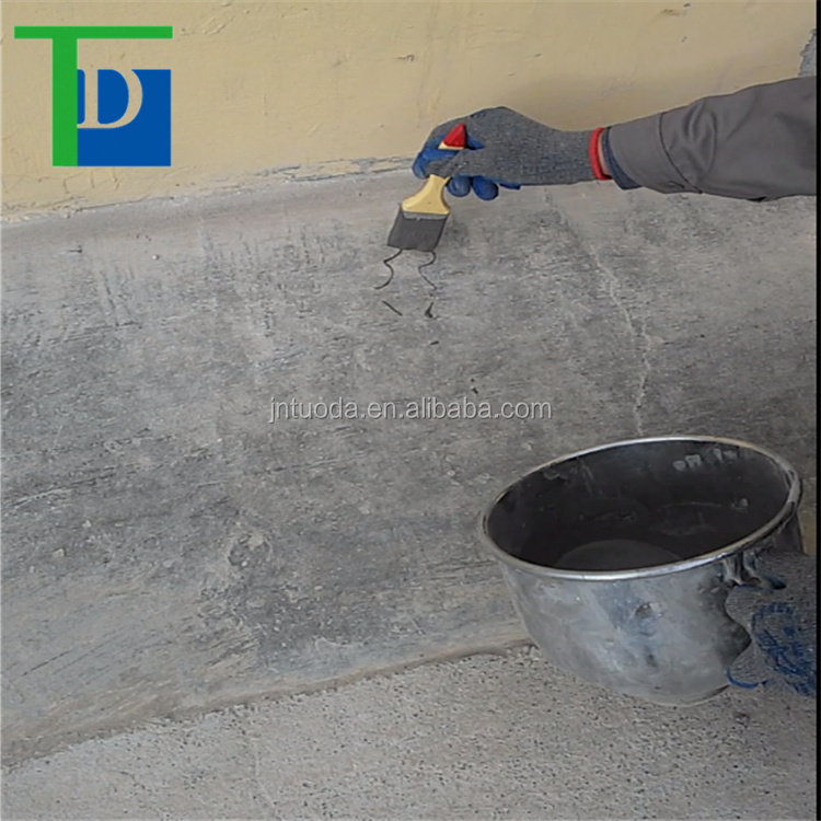 Construction is simple, brush, roller coating, scraping construction waterproof coating