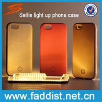 2016 led light up phone case selfie light up case for samsung galaxy s7