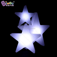 LED light PE little star inflatable star balloon for christmas decoration