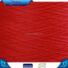 100D/36F/1 NEON COLOR spun polyester yarn twisted for curtains fabric with good price