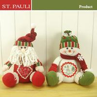 hot sale 10inch Santa/Snowman Christmas Product