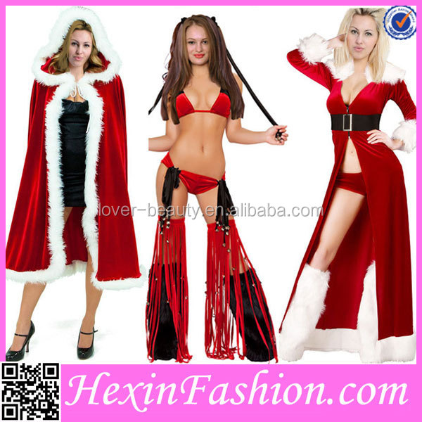 Wholesale Fashion Red Cheap Christmas Lingerie