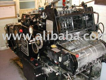 HEIDELBERG OFFSET PRINTING MACHINES KOR, KORA, KORD 62, KORD 64 FOR EXPORT
