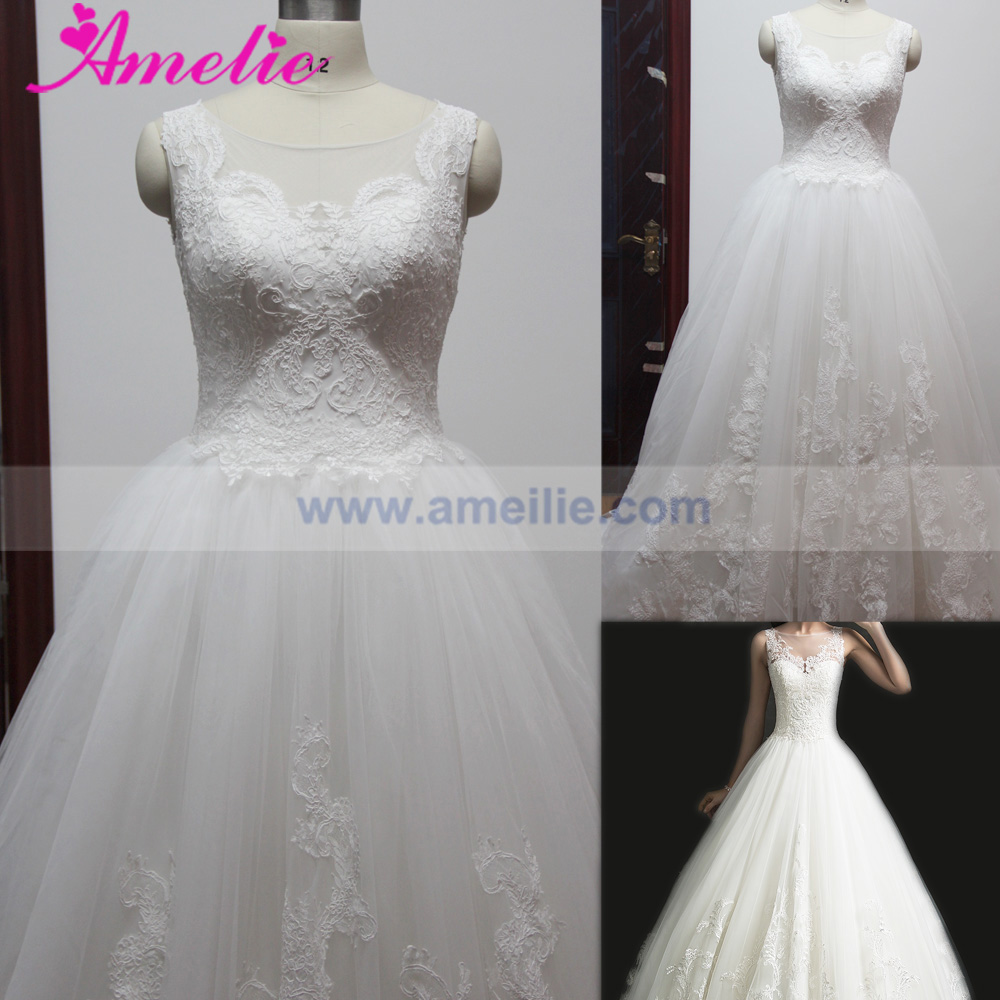 Factory Wholesaler Alibaba Hijab Muslim Bridal Wedding Dress