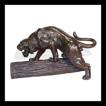 High quality brass tiger sculpture