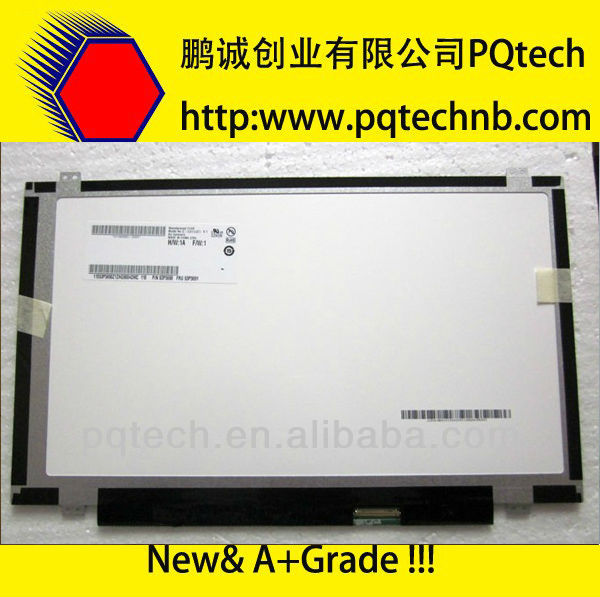 laptop 15.6 ccfl lcd screen CLAA156WA01A with A Grade quality and cheap price