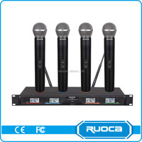 Hot Sale Performance Fm Electret Wireless Microphone
