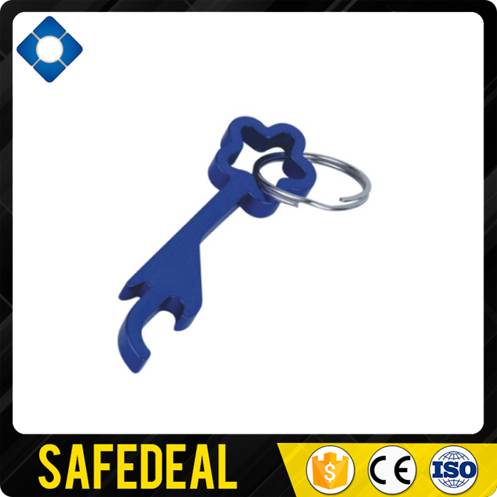 Aluminum Star Shaped Bottle Opener Key Chain