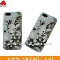 mobile phone silicone case for iphone 4/4s with sketch cell phone cover