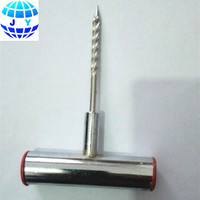 Car Tire Repair Tubeless Tool T-Grip Split Eye Needle