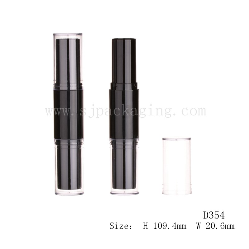 Two sides lipstick tube double ended cosmetic tube