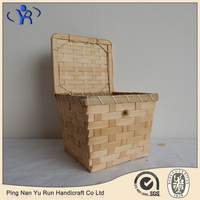 Chinese Factory Made Woven Bamboo Storage