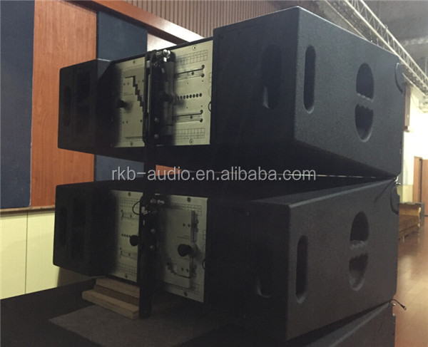 passive dual 10inch line array for sound system