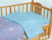 wholesale100% cotton printed cartoon baby bedding set