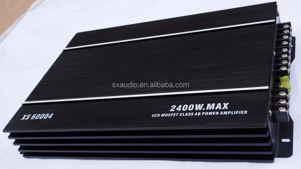 4CH*60W High End Car Amplifier