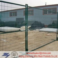 2.1m x 2.4m temporary welded wire fence panels