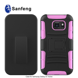 Manufacturing Silicone&PC Phone case cover for Samsung G891/S7 Active cover for Samsung