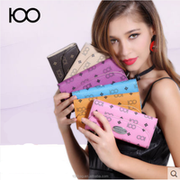 2016 China wholesale hot selling new fashion colorful wallet for woman