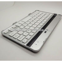 Aluminum Bluetooth 3.0 Keyboard/ Bluetooth 3.0 Keyboard/ Wireless Bluetooth 3.0 Keyboard for google nexus 7 white