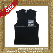 Top grade hot sale printing animal singlet's vests
