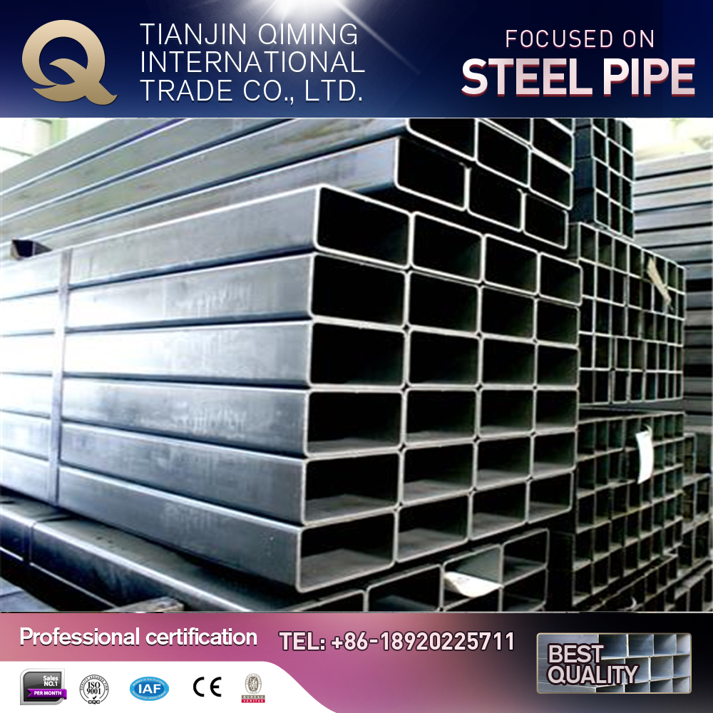 Free sample galvanized square steel tube for water filter