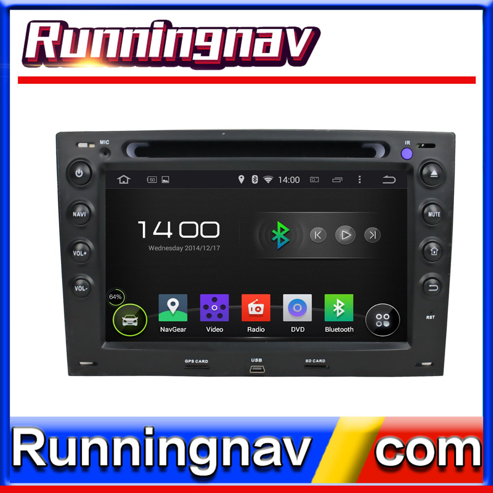 "7"" Android For Renault Megane II III 2003 - 2009 2 Din Quad Core / Qcta Core HD Car DVD Player GPS Navigation Radio"