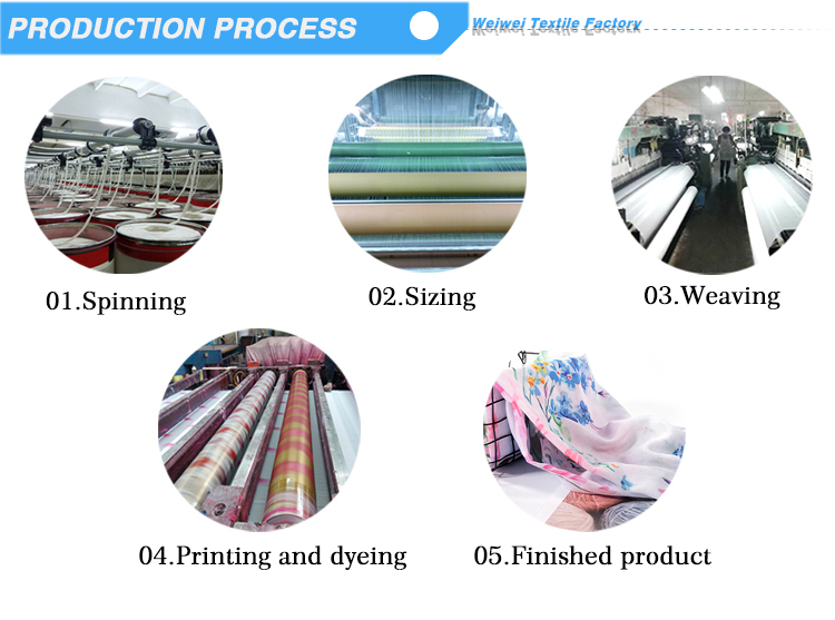 OEM accepted printed voile scarf