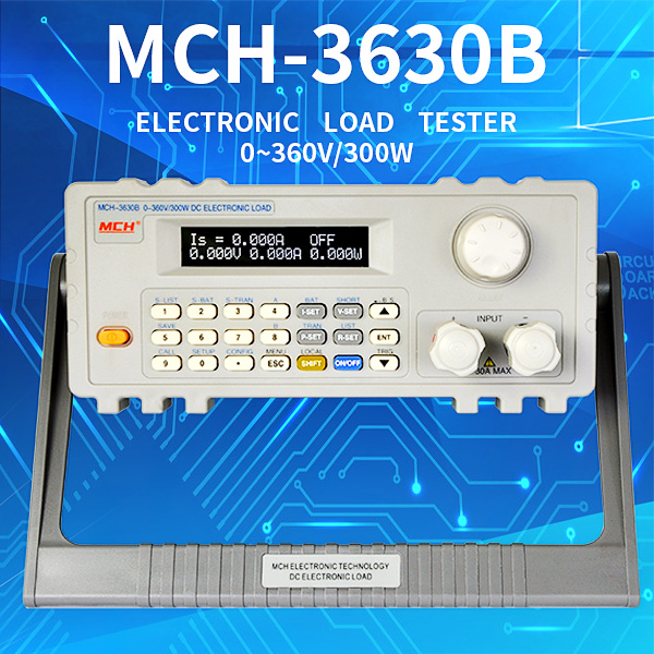 Universal Testing Machine MCH-3630B DC 300W dc electronic Programmable DC Electronic Load for battery test
