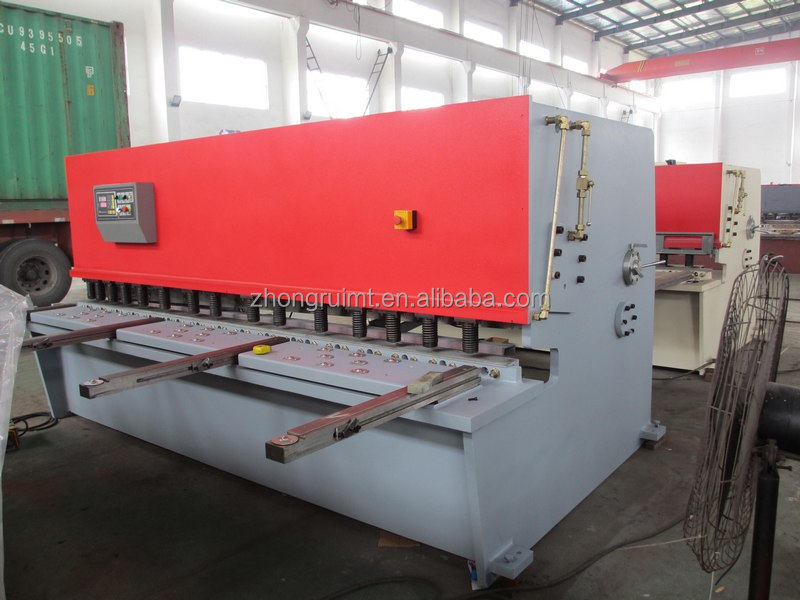 QC12Y hydraulic plate shearing machine tin sheet shear , stainess steel plate shear cutter