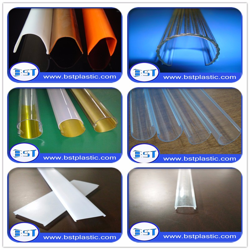 extrusion colored hard pvc pipe with iso 9001 standard